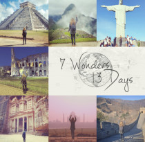 Inspiring Catalyst: Megan Sullivan, 7 Wonders of the World in 13 Days | icatalyze.org