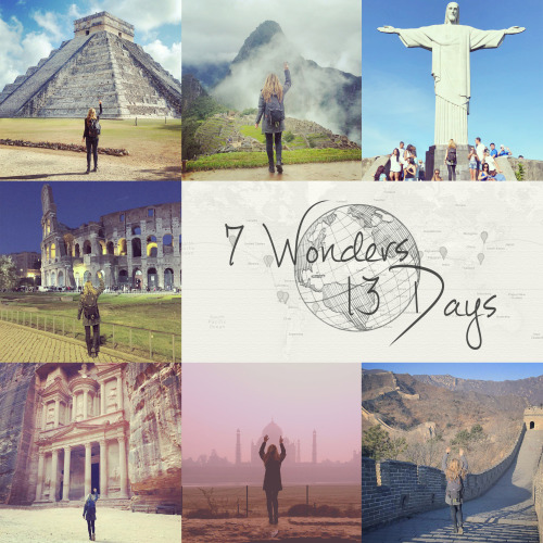 Inspiring Catalyst: Megan Sullivan, 7 Wonders of the World in 13 Days